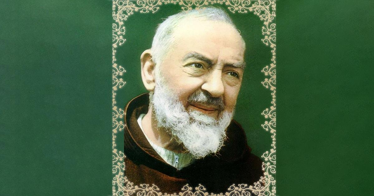 Oração São Padre Pio de Pietrelcina